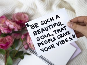 Quote; Be such a beautiful soul